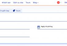 Website TripU.vn - một sản phẩm của Vietravel